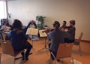 Quatuor à cordes - Haute école de musique