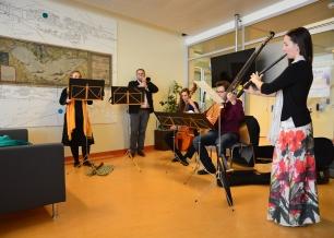Quintette de musique ancienne - Haute école de musique