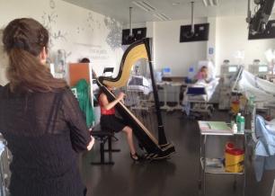 Concert de Harpe - Salle de dialyse - Haute école de musique de Genève