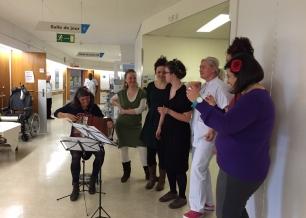 Chorale des Balkans - Hôpital de Bellerive