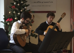 Dmitri Timoshenko et Angel Tomás-Ripoll - Concert au don du sang
