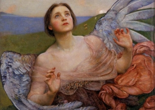 Annie Louise Swynnerton Sense of sight 1895