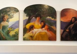 Coutau Hippolyte - Les trois âges de la femme - 1904 - huile sur toile
