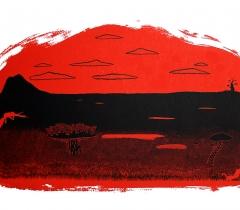 Sans titre - 2009 - Estampe - 100 x 70 cm - PER_17_103