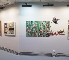 Art au Colza - exposition Espace Opéra - hôpital