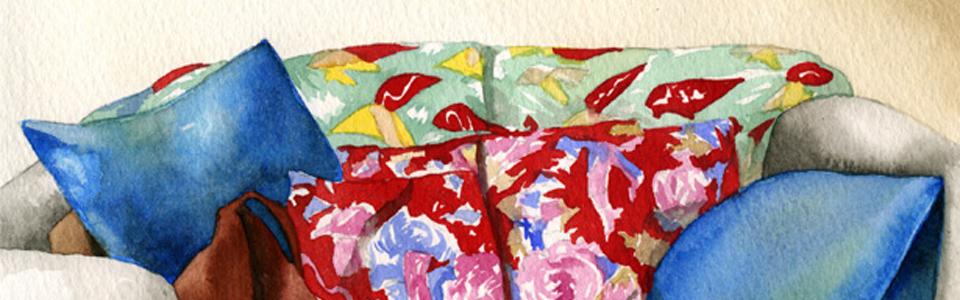 Alexandra Compain-Tissier - série Anouck pour Dingdingdong (canapé) - 9/20 - 2013 - tirage sur papier Hahnemühle - 36 x 27,5 - COM_16_065