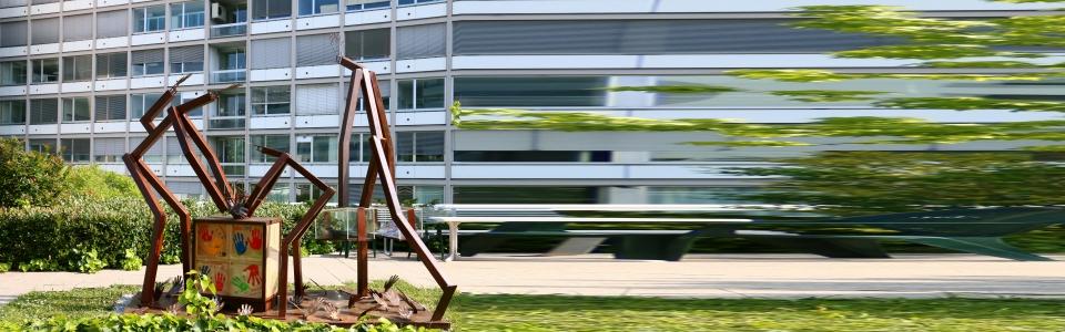 Ousmane DIA - Pouvoir des mains - 2018 - sculpture - © Alain ZUIN